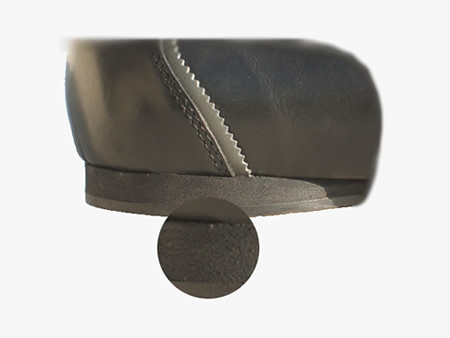 image of cushioned heel